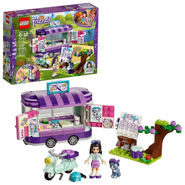 Amazon.com: LEGO Friends Emma's Art Stand Building Kit (210 Pieces) only $15.99!