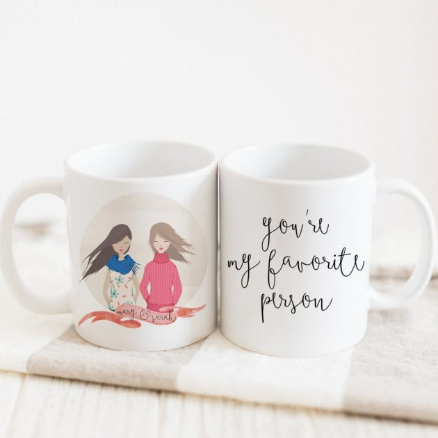 Get Personalized Portrait Mugs for just $11.99 + shipping!