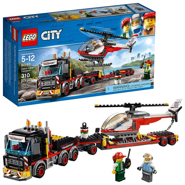Amazon.com: LEGO City Great Vehicles Heavy Cargo Transport Building Kit only $23.99!