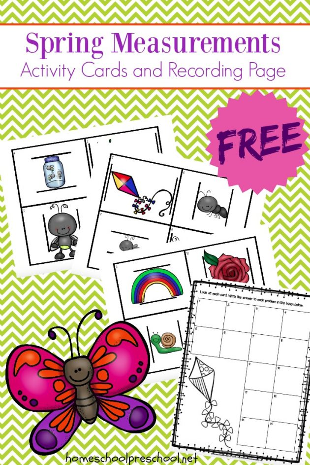 photo relating to Printable Measuring known as Totally free Printable Preschool Spring Dimensions Recreation