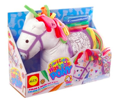Amazon.com: ALEX Toys Craft Color and Cuddle Washable Pony only $7.58!