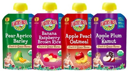 Target: Earth's Best Organic Pouches only $0.57!