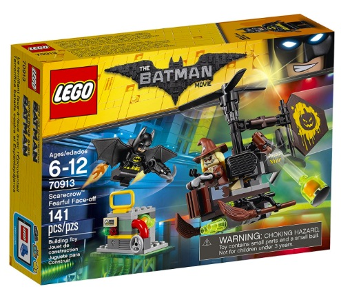Amazon.com: LEGO Batman Movie Scarecrow Fearful Face-Off Building Kit only $10.49!