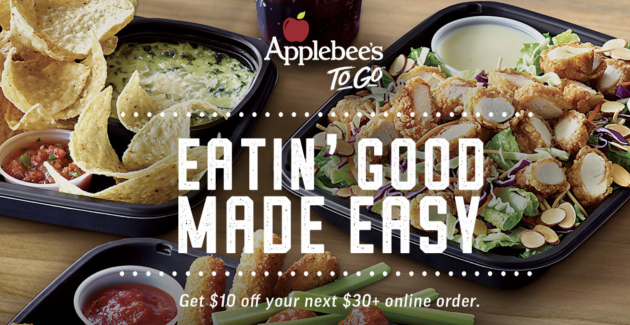Printable applebees coupons september 2018