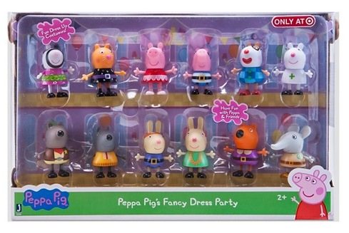 Target.com: Peppa Pig Fancy Dress Party Figures (12 pack) only $15 (regularly $29.99)!