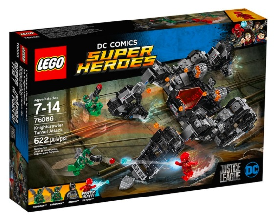 Amazon.com: LEGO Super Heroes Knightcrawler Tunnel Attack only $35 shipped, plus more!