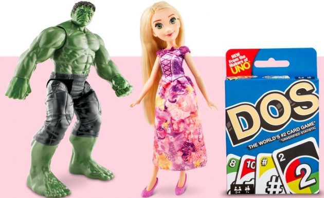 Target: $10 Off $50 or $25 Off $100 Toys & Games Purchase