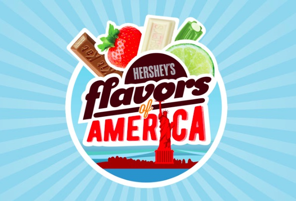 "Hershey's ""Flavors of America"" Instant Win Game (2,002 Winners!)"