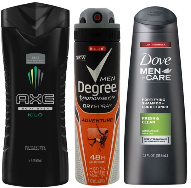 Free Men's Degree, Dove, or AXE Sample Pack