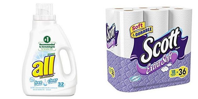 CVS: Stock up on All Laundry Detergent and Scott Toilet Paper!