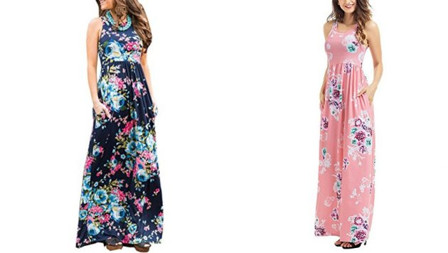 Amazon.com: Get a Women's Casual Sleeveless Maxi Dress as low as $15.99!