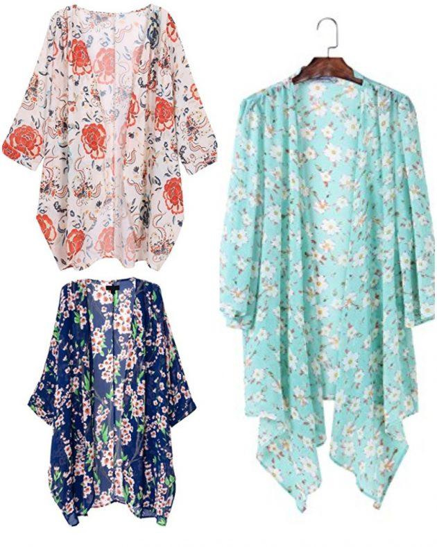 Amazon.com: Get a Women's Sheer Chiffon Kimono Cardigan for just $14.99!