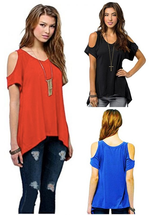 Amazon.com: Relipop Shirt Short Sleeve Tunic Top only $11.99!