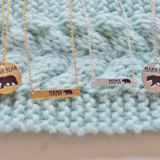 Get a Mama Bear Necklace for only $6.99 shipped!