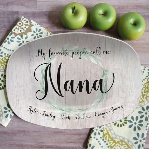 Get Mother's Day Personalized Platters for just $25.99!