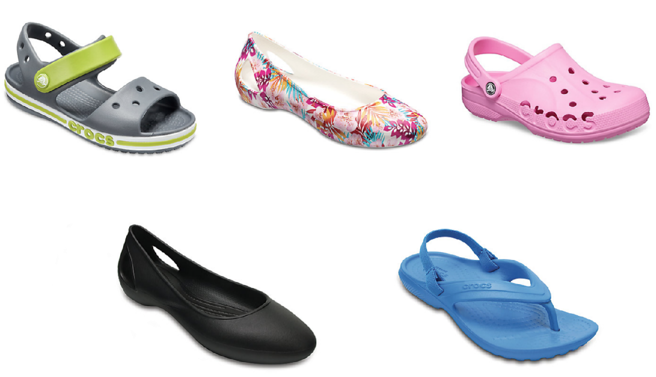 Crocs.com: 2 Pairs for just $35 \u003d Shoes