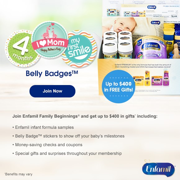 Sign Up For Enfamil Coupons