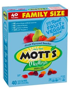 Amazon.com: Mott's Medleys Fruit Snacks (40 count) only $4.12!