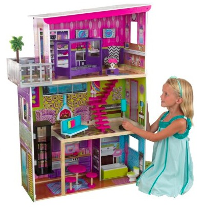 Walmart.com: KidKraft Super Model Dollhouse with Accessories only $49.97 shipped!