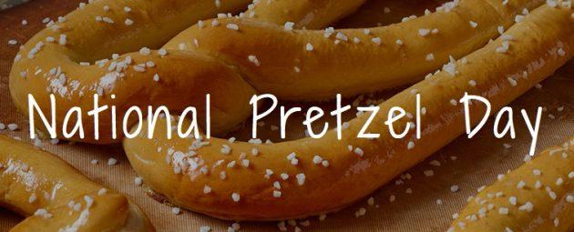Pretzelmaker: Free Pretzel on April 26, 2018!