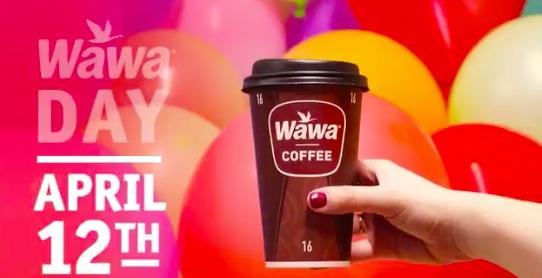 Wawa: Free coffee on April 12, 2018
