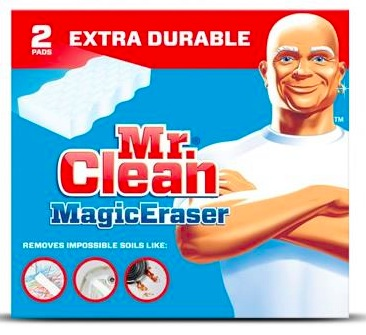 Target: Mr. Clean Erasers only $0.99!