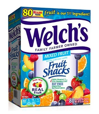 Amazon.com: Welch's Fruit Snacks (80 count) only $10.99 shipped!