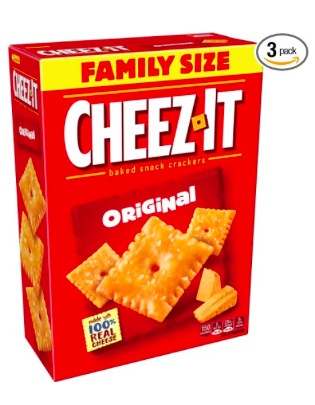 Amazon.com: Cheez-It Original Baked Snack Cheese Crackers, Family Size Box (Pack of 3) only $8.41 shipped!