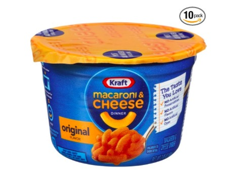 Amazon.com: Kraft Easy Mac Original Cheese Microwavable Cups (Pack of 10) only $7.08!