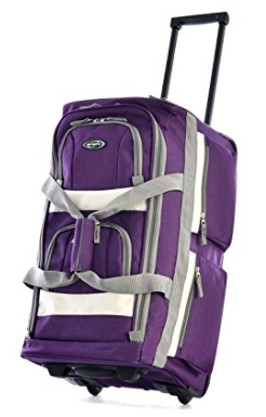 Amazon.com: Olympia Rolling Duffel Bag only $24.39!
