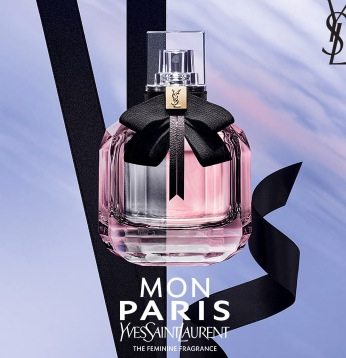 Free sample of Yves Saint Laurent Mon Paris Fragrance