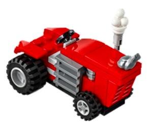 Free LEGO Tractor Minibuild on May 1-2, 2018