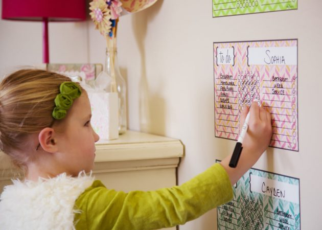 Get a Children's Chore Chart + Marker for just $9.99 + shipping!