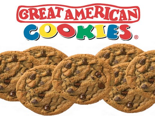 Great American Cookies: Free Chocolate Chip Cookie on April 17, 2018!