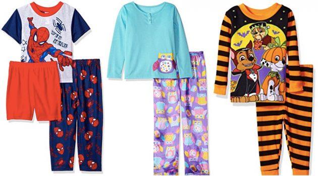 Amazon.com: Up to 70% off Select Kids' Pajamas = Prices as low as $2.62