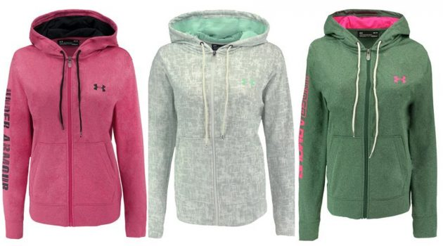 Get a Women's Under Armour Full Zip Hoodie for $29 shipped (regularly $64.99)!