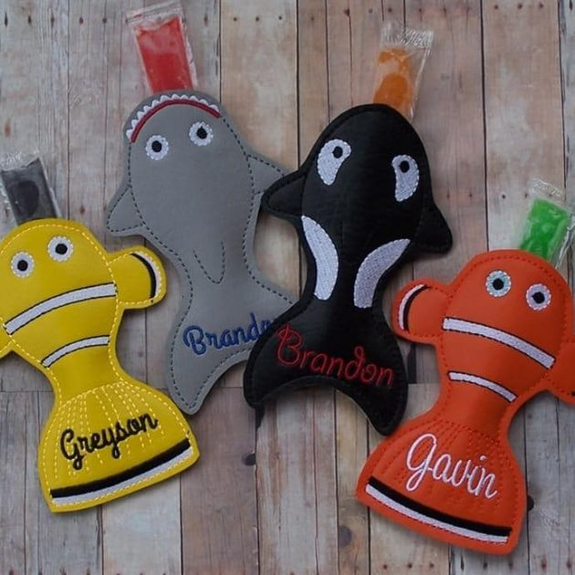 Get Personalized Popsicle Holders for just $3.99 + shipping!