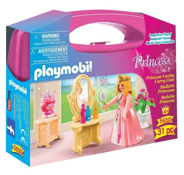 Playmobil Princess Vanity Carry Case for just $4.47!