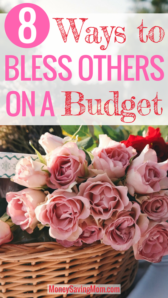 Want to bless others, but you're on a tight budget? Read this post for inspiration and practical ideas!