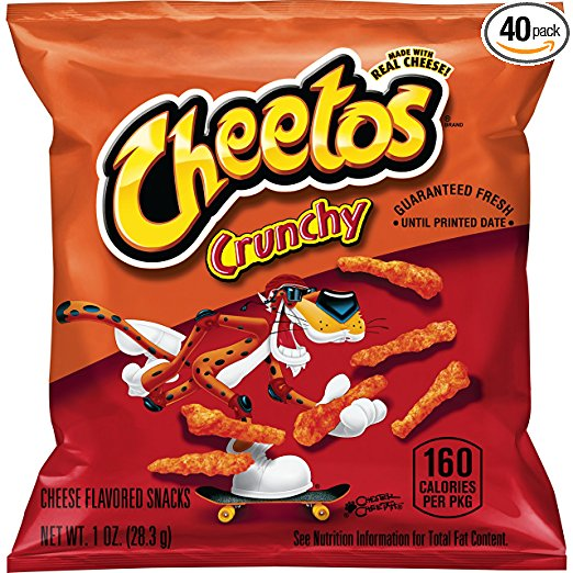 Get Cheetos Crunchy Cheese Flavored Snacks (Pack of 40) for just $11.71 shipped!