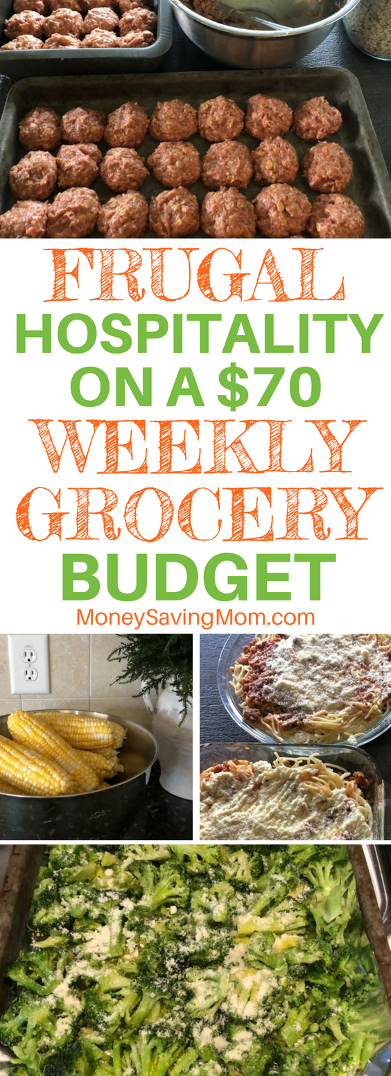 You can show hospitality even on a small grocery budget! This post is so inspiring!!