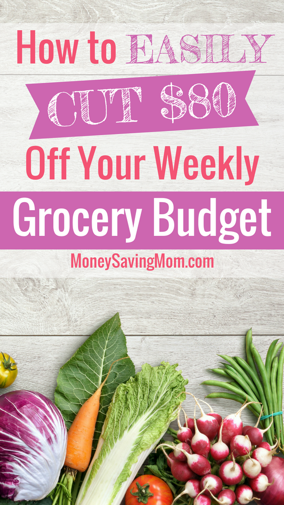Wow! Easily cut $80 off your grocery bill with these simple tips! I love this testimony!