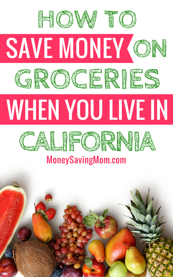 Trying to save money on groceries in California? It's not as hard as it seems! Read this!!