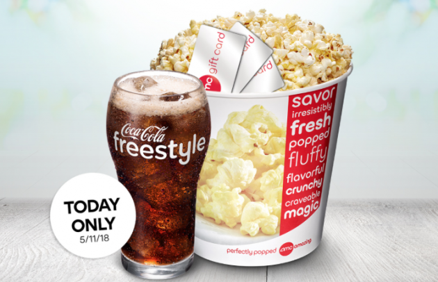 Today Only When You Purchase 50 In AMC Gift Cards Youll Get A Free 10 Concessions Bonus Card Which Can Be Redeemed Towards Concession Purchases