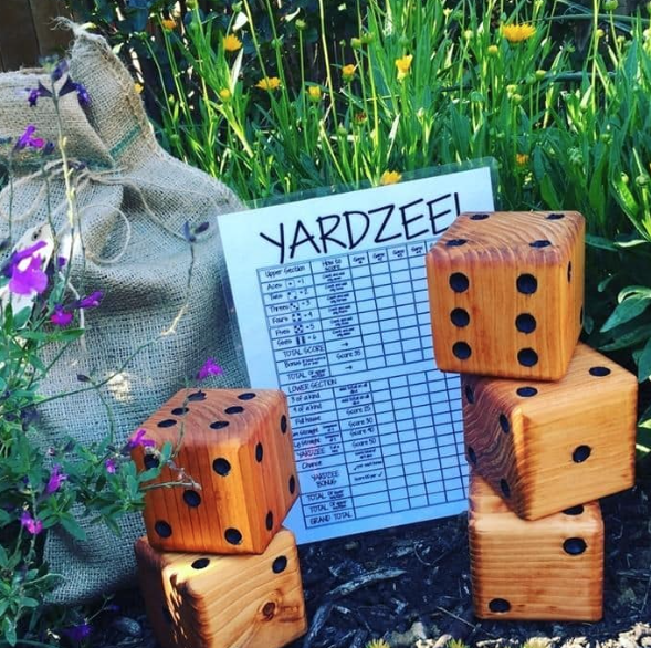 Yardzee Large Yard Dice Game For Just 3299 Shipping Money