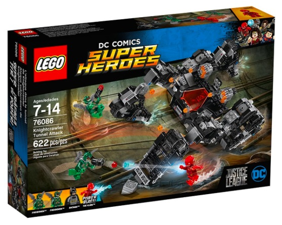 LEGO Super Heroes Knightcrawler Tunnel Attack only $32.98 shipped!