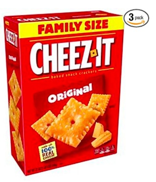 Cheez-It Original Baked Snack Cheese Crackers, Family Size (3 count) only $8.85 shipped!
