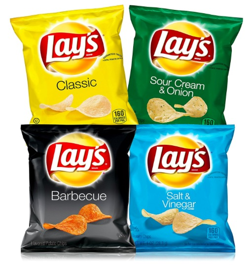 Lay's Potato Chips Variety Pack (40 Count) just $10.79!
