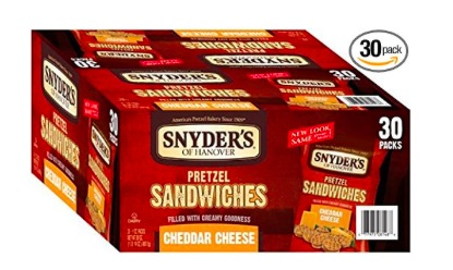Snyder's of Hanover Cheddar Cheese Pretzel Sandwiches (30 Count) only $8.83 shipped!