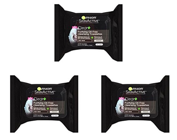 Garnier SkinActive Facial Wipes (3 pack) only $6.72 shipped!